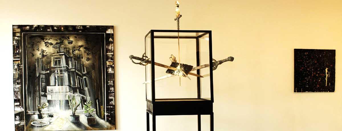 Vadim Vosters - Ausstellungsansicht: Rear Window
