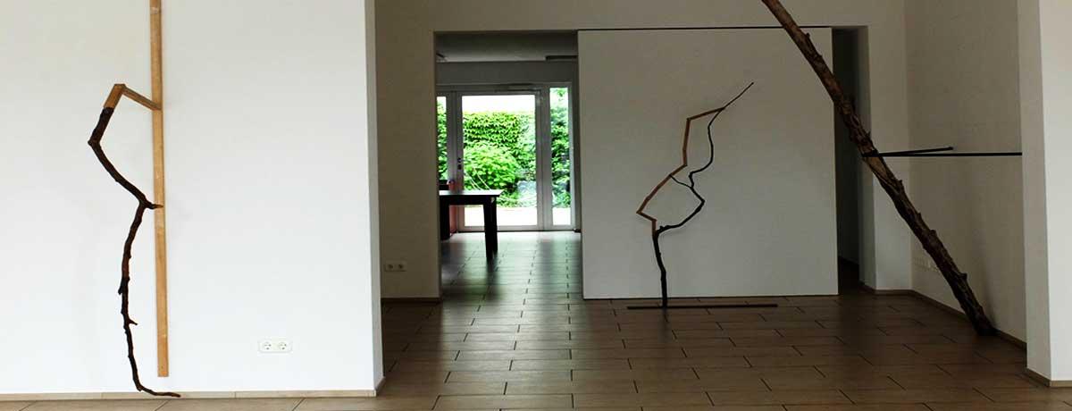 Lioba Wagner - Ausstellungsansicht: Abschnitte