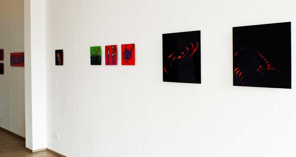 Ausstellungsansicht Cosmos