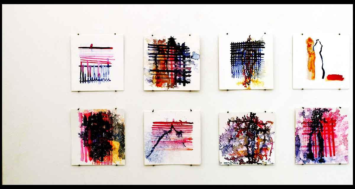 Bettina Meyer - Ausstellungsansicht: Ich zerschlage die Schale der Geschichte (2)