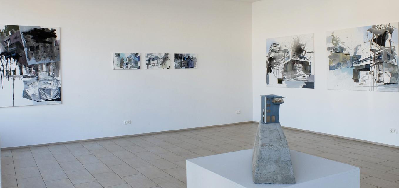 Manfred Gipper - Ausstellungsansicht: Mein schönstes Grau (2)