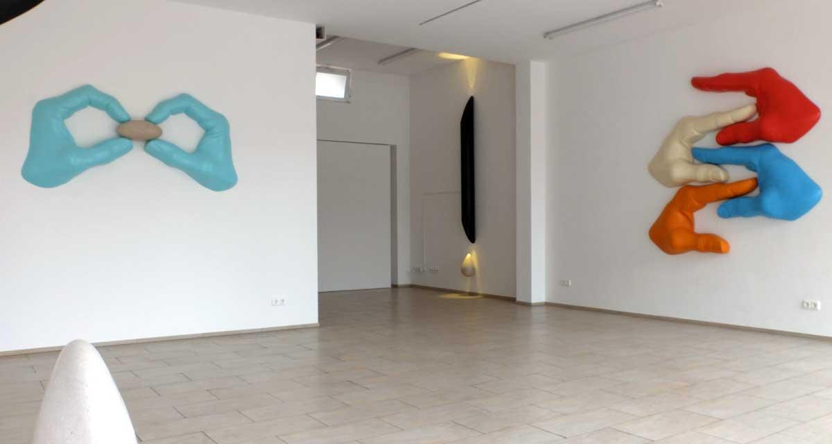 was verborgen bleibt - Ausstellungsansicht