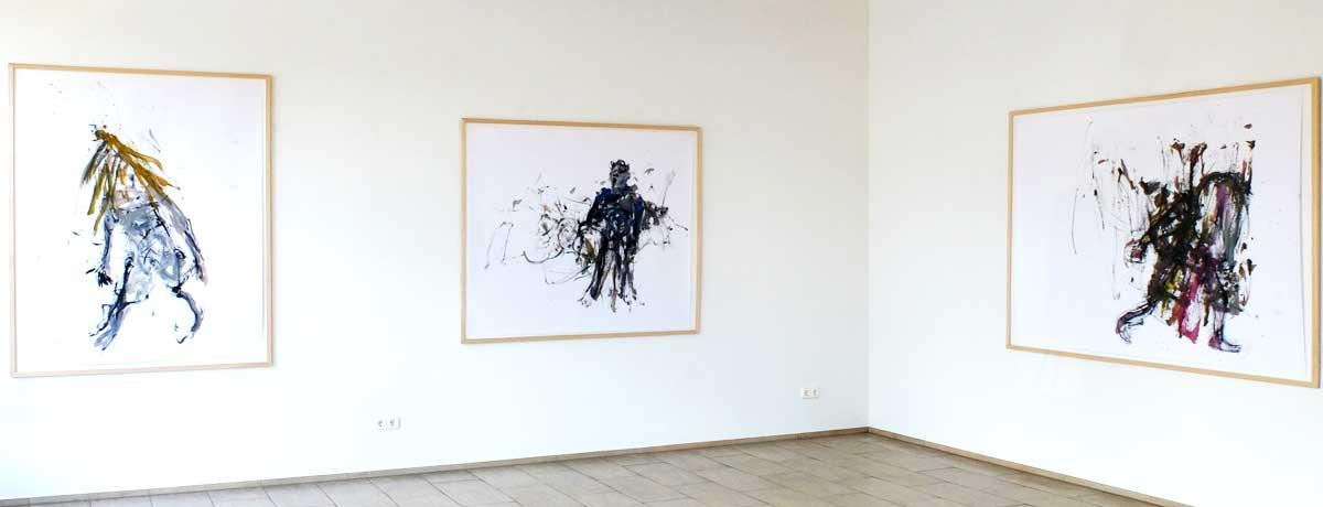 Ausstellungsansicht Rolf Schanko