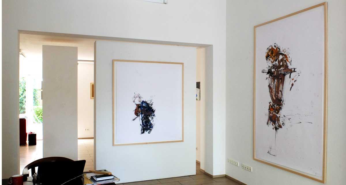 Ausstellungsansicht: Rolf Schanko, Figur
