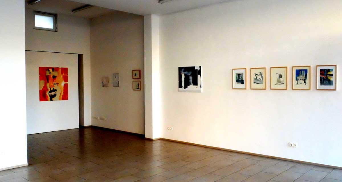 Ausstellungsansicht: Keine Ahnung von der Welt