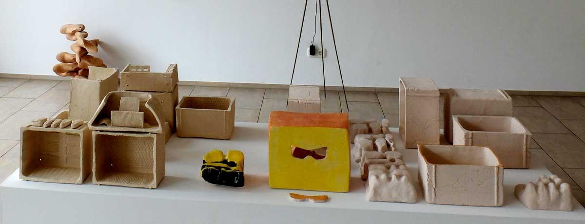 Ausstellungsansicht Medusenfloss