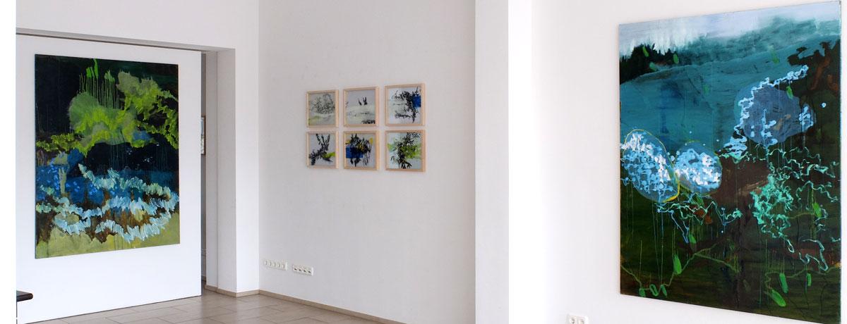 Ausstellungsansicht Nicole Bold