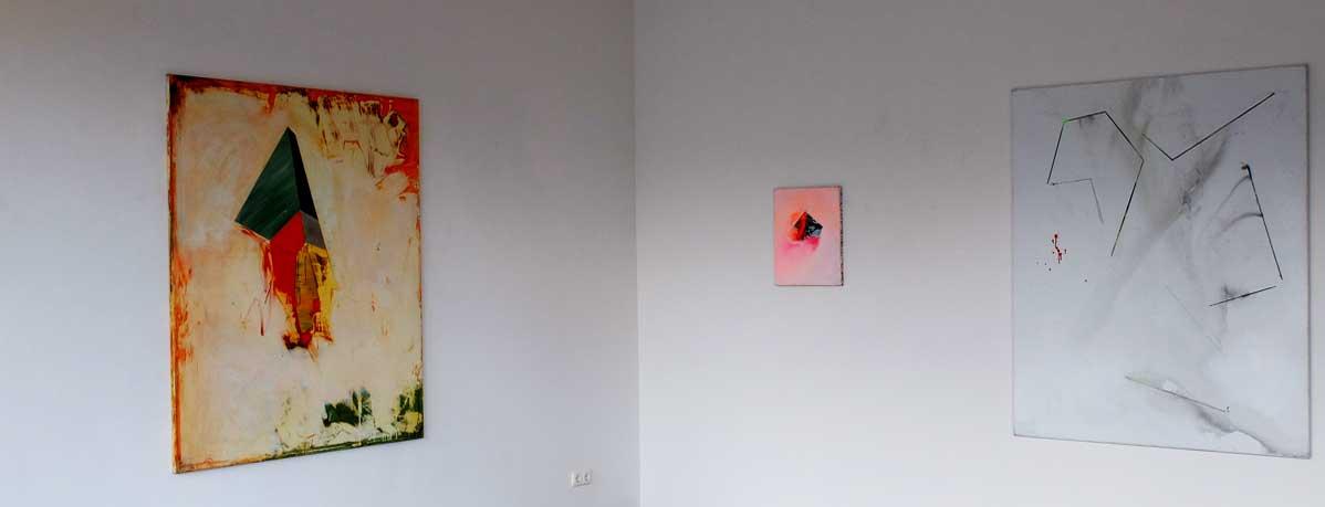 Ausstellungsansicht Bart Vandevijvere