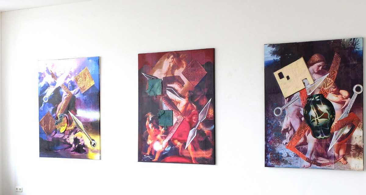 Ausstellungsansicht: KAIN