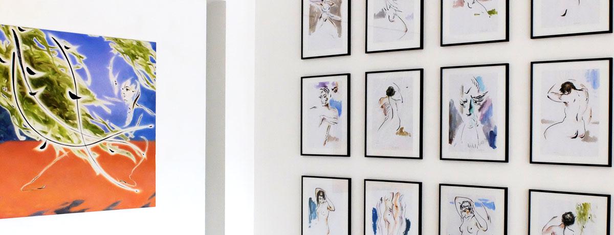 Ausstellungsansicht: Wang Fu, Die ursprüngliche ...