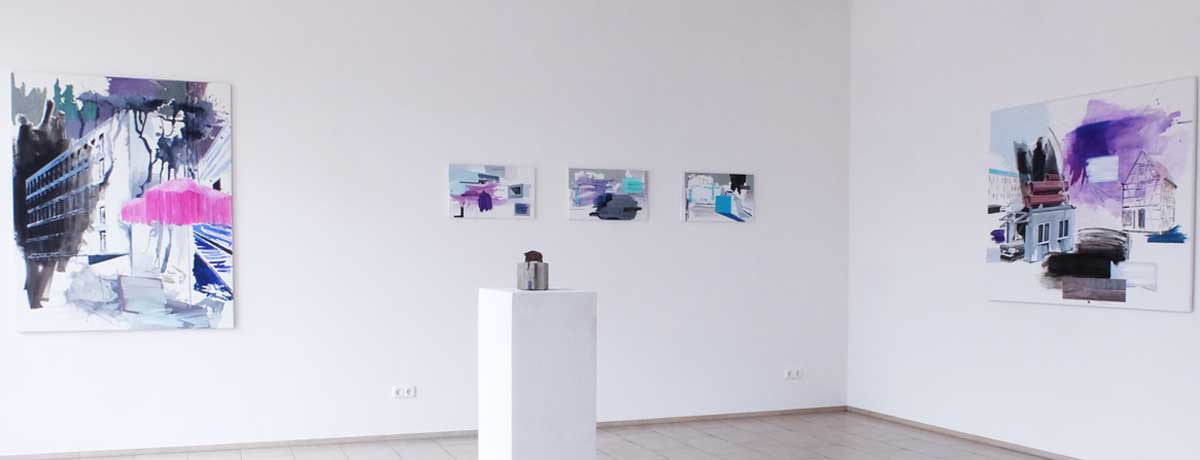 Ausstellungsansicht: Realitätssprünge