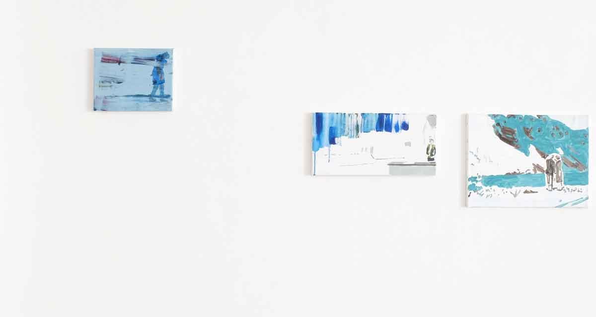 Ausstellungsansicht: den Raum verlassenMutation
