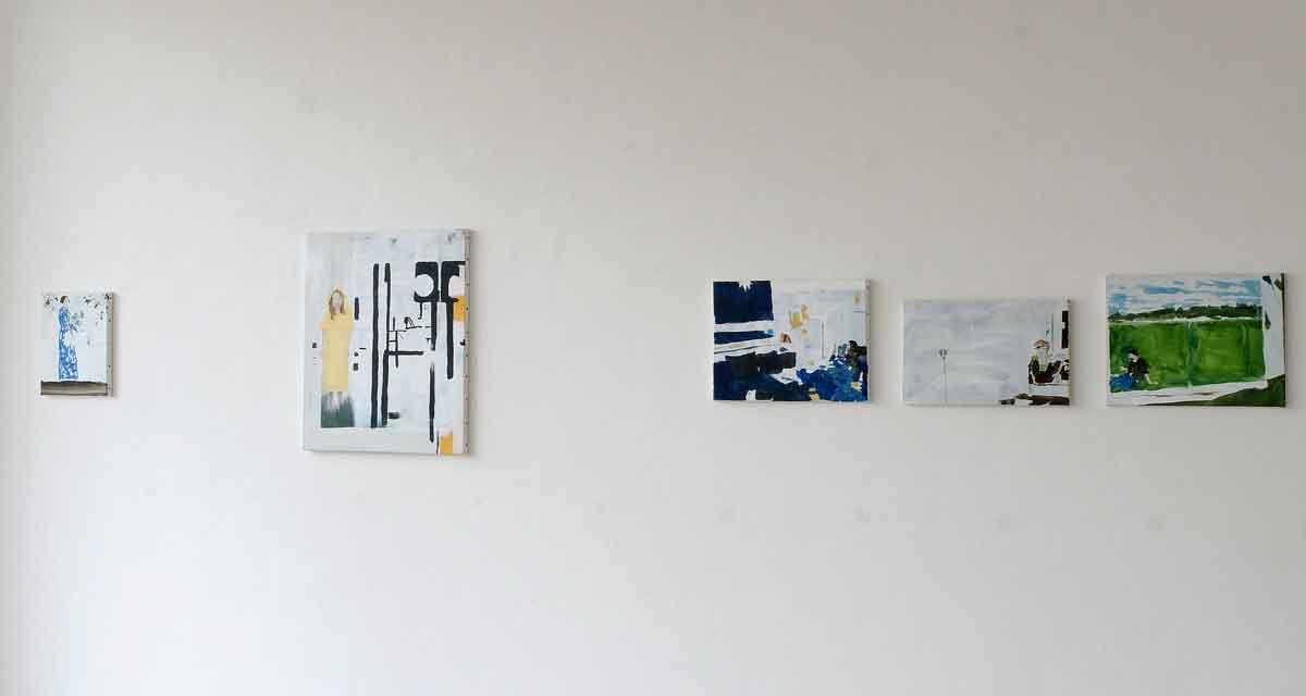 Ausstellungsansicht: den Raum verlassen